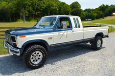 Bid for the chance to own a 1986 Ford XLT Lariat SuperCab at auction with Bring a Trailer, the home of the best vintage and classic cars online. F150 Truck, Ford Pickup Trucks, Ford 4x4, Chevy Trucks, Ford Classic Cars, Classic Trucks, Ford F150 Lariat, Old Fords, Sweet Cars