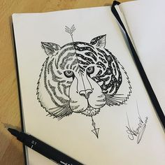 "Inspi cosmique  3h 🎨✏️ ""Laisse parler ton imagination""  #dessin #draw #drawing #dessiner #art #arte #artist #artiste #artofvisuals #art_spotlight #artoftheday #artofinstagram #artofdrawing #artofdrawingg #artwork #artoftype #art_empire #art_help #art_we_inspire #art_collective #illustratenow #illustrate #pen #stylo #crayon #prismacolor #colors  #fleches #cosmos #tigre"