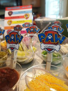 Paw Patrol Hot Dog Bar