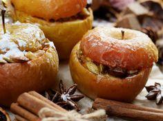 Рецепты правильного питания. Десерт без сахара из яблок с корицей.jpg