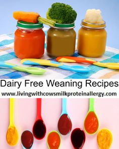 Dairy Free Weaning Recipes - Living With CMPA, cow's milk protein allergy, puree's, vegetables fruit dairy free cheese potato bake puree dairy free yogurt..