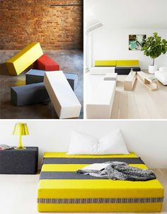 ZIG: Modular Furniture Lets You Build To Suit Your Space... S.O.M.F |