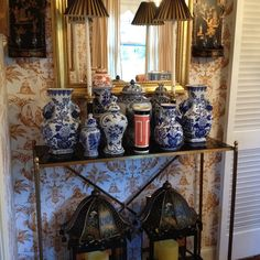 Chinoiserie Chic: Weekend Find, Displaying Blue and White Chinese Porcelain, and Magazine Styling