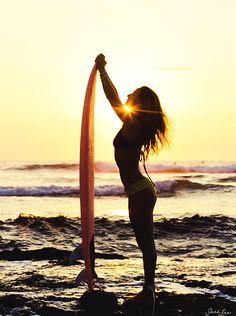 beach girl #surf