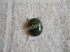 Mặt nhẫn Ngọc Bích lớn- Nhẫn đá quý Nephrite Thegioidaquy.net