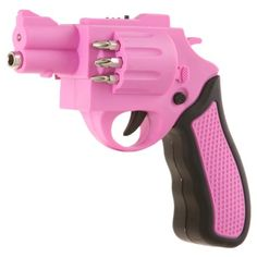 Pink Revolver Shaped Screwdriver Rechargeable With Drill Bits - Amazon.com