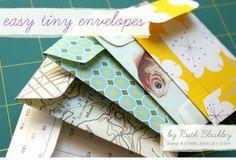 easy tiny enveloppes