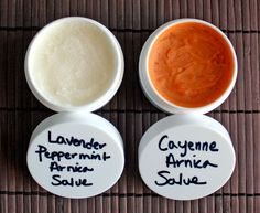 Pain Relieving Coconut Oil Arnica Salve Recipe.