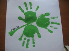 christian saint patrick's day | ... handprint craft for St. Patrick's Day with your kids. Jelena Anderson