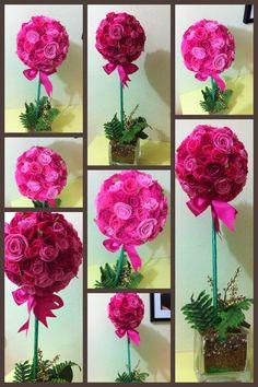felt topiary ;)