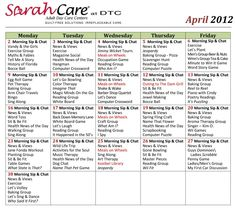 assisted living activity calendar template - 1000 images about other activity calendars on pinterest