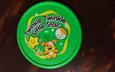 Fisher Price LAUGH AND LEARN Sing with Me CD PLAYER REPLACEMENT Disc Little STAR #FisherPrice