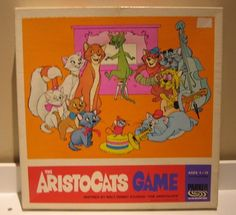 Vintage The Aristocats Game Walt Disney Board Game Parker Brothers