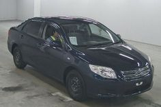 Japanese vehicles to the world: 2007 / OCT Toyota Corolla AXIO X for Kenya to Momb...