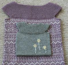 sweet vest pattern  newborn - size 7.