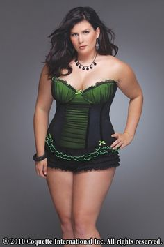 ccde554129259 Plus Size Mesh Over Lycra Gathered Bustier