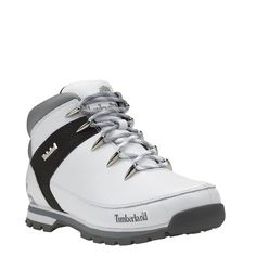 Timberland - Chaussures Euro Sprint Hiker Homme - Blanc Plus Timberland Boots Style, Timberland Waterproof Boots, Timberland Mens, Best Sneakers, Sneakers Fashion, Yellow Boots, Shoe Company, Timberlands Shoes, Cool Boots