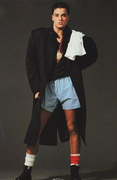 ray petri / jamie morgan for the face, 1984 Nick Kamen / 1980 / fashion queer / Malesoulmakeup