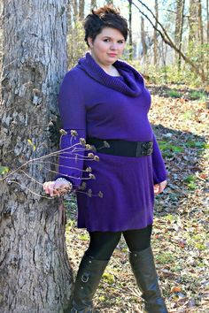 Belt worn on belly - Hems for Her Trendy Plus Size Fashion for Women