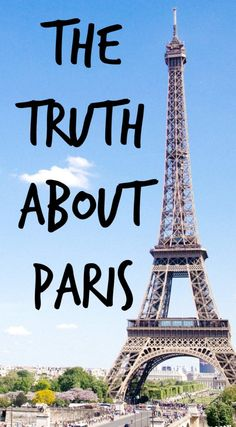 The Path She Took | The truth about Paris | http://www.thepathshetook.com