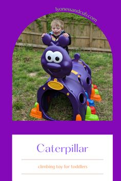 [Ad] The ECR4 Kids Peek-a-Boo Caterpillar is one of my son's favorite outdoor climbing toy. It's big enough for a group of toddlers or pre-school kids and would be great for a daycare center, too. Even our cat and dogs liked to go inside and peek out of the round windows! School Kids, Pre School, Round Windows, Toys For Tots, Multiplication For Kids, Very Hungry Caterpillar, Peek A Boos, Toddler Toys, Big Kids