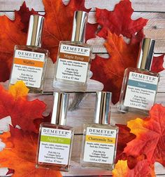 Demeter Pick-My-Up Colognes make it so easy to really have the BEST fall fragrance day.