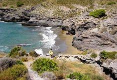 Cala las Mulas is a private Nudist Beach in Murcia Spain