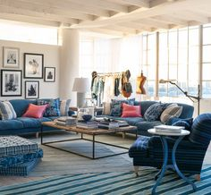 Ralph Lauren Home's Spring 2016 Collection, Elizabeth Street, inspires with the cool, casual air of loft-living