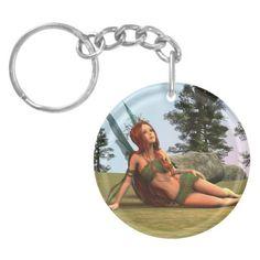 #Fairy Acrylic #Keychain