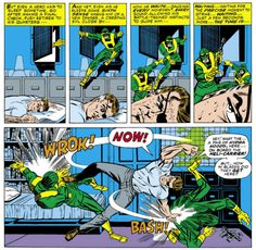 Nick Fury vs Hydra - Strange Tales #155, Jim Steranko