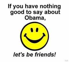 feel free to follow me..Not one good thing to say about obama or michelle