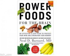 Booktopia has Power Foods for the Brain, An Effective Plan to Protect Your Mind and Strengthen Your Memory by Neal D Barnard. Buy a discounted Paperback of Power Foods for the Brain online from Australia's leading online bookstore. The Chew Recipes, Cookbook Recipes, Popular Recipes, Free Recipes, Easy Recipes, Power Foods, Coconut Health Benefits, Brain Food, Brain Health