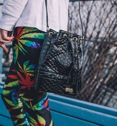 #StoneySunday outfits be like...   Shop our Tie Dye #WeedLeafLeggings from MMJCO.COM! Now available in sizes XS-2XL! #MissMaryJane #MissMaryJaneGirls #MissMaryJaneCo #MMJCO #TieDye #Leggings #WeedApparel