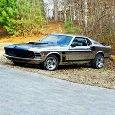 """Vintage Motorcycles Muscle Boss 351 Mustang, """"IT 1970 Ford Mustang, Mustang Cobra, Mustang Fastback, Ford Gt, Ford Mustangs, Jet Ski, Vintage Mustang, Car Man Cave, Auto Retro"""