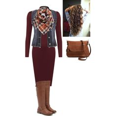 Untitled #868 by bye18 on Polyvore featuring WearAll, maurices, JustFab, Moda Luxe and BP.