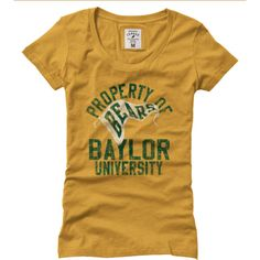 Old-school-style #Baylor t-shirt