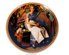 Excited to share the latest addition to my #etsy shop: Vintage Norman Rockwell 1982 Collector Plate Limited Edition Dreaming In The Attic Edwin M Knowles Rockwells Rediscovered Women #vintage #birthday #christmas #gold #normalrockwell #rockwellplate #limitededition http://etsy.me/2AoW5aj
