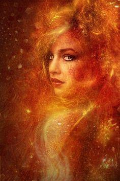 /autumn goddess High Priestess Fire