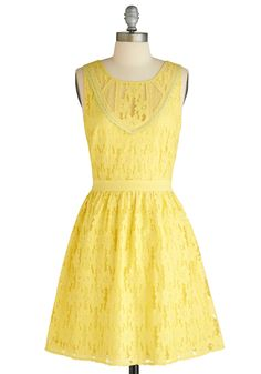 Needs to be a tad longer, but otherwise, would make a lovely country-themed bridesmaid dress! :)