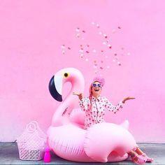 flotador flamenco rosa Pink Color, Color Pop, Pop Art Images, Bee Creative, Photographie Portrait Inspiration, Best Photo Poses, Photoshoot Themes, Halloween Disfraces, Birthday Pictures