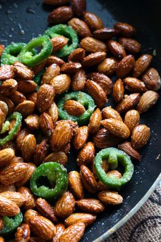 Jalapeno Almonds
