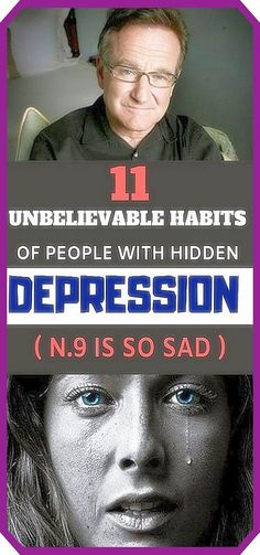 11 Unbelievable Habits of People with Hidden Depression (No.9 Is so Sad)