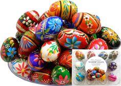 Easter Symbols, Polish Easter, Polish Folk Art, Life Symbol, Easter Colors, Easter Baskets, Floral Motif, Easter Eggs, Craft Supplies