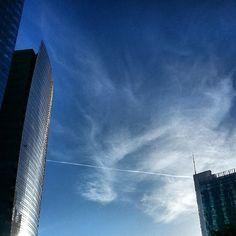 cielo e grattacieli - Porta Nuova