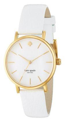 Kate Spade white watch. Love it