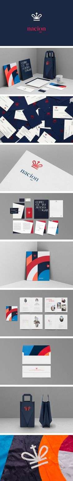 Nacion Real estate branding | Branding | Pinterest