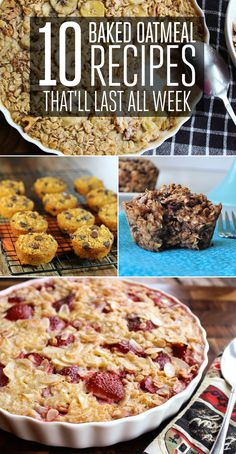 Delicious Oatmeal Recipes