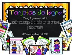 Tarjetas de logros (Brag Tags en español)