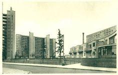 Antwerpen-Kiel - Woningkompleks Huisvesting Multi Story Building, Frans, Kiel