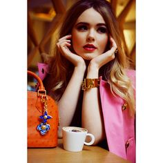 KRISTINA BAZAN FOR THE LOUIS VUITTON ALMA Kayture ❤ liked on Polyvore featuring kayture i modell